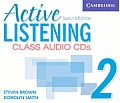 Active Listening 2 Class Audio CDs (Active Listening Second Edition)