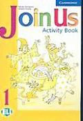 Join Us 1 Activity Book (Join in) Cover
