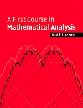 First Course in Mathematical Analysis (06 Edition)