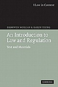Introduction to Law & Regulation Text & Materials
