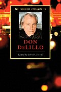 The Cambridge Companion to Don Delillo (Cambridge Companions to Literature) Cover