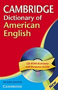 Cambridge Dictionary of American English - With CD (2ND 08 Edition)