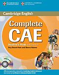 Complete Cae Student's Book with Answers [With CDROM] (Complete)