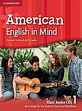 American English in Mind Level 1 Class Audio CDs (3) Cover