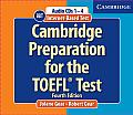 Cambridge Preparation for the TOEFL(R) Test Book and Audio CDs Pack with CDROM