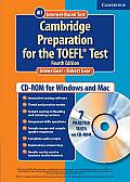Cambridge Preparation for the Toefl Test Student