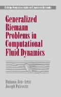 Generalized Riemann Problems in Computat