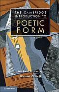 Poetic Form: An Introduction: An Introduction Cover