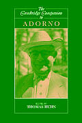 Cambridge Companion To Adorno