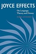 Joyce Effects: On Language, Theory, and History