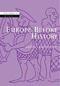 Europe Before History (New Studies in Archaeology) Cover
