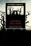 Cambridge Companion To Gothic Fiction (02 Edition) Cover