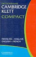 Dictionnaire Cambridge Klett Compact Francais-Anglais/English-French