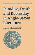 Cambridge Studies in Romanticism #32: Paradise, Death and Doomsday in Anglo-Saxon Literature