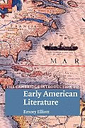 The Cambridge Introduction to Early American Literature