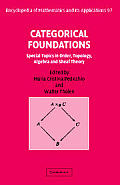 Categorical Foundations: Special Topics in Order, Topology, Algebra, and Sheaf Theory (Encyclopedia of Mathematics and Its Applications)