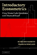 Introductory Econometrics: Using Monte Carlo Simulation with Microsoft Excel [With CDROM]