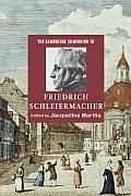 The Cambridge Companion to Friedrich Schleiermacher Cover