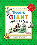 Tiggers Giant Lift The Flap Book Learn