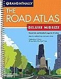 Rand McNally Deluxe Midsize Road Atlas (Rand McNally Road Atlas & Travel Guide)