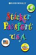 Children's Travel - Sticker Passport USA with Sticker (Sticker Passports)