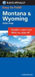 Montana Wyoming Easyfinder Map