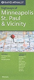 Rand McNally Highways of Minneapolis, St. Paul & Vicinity