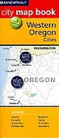 Western Oregon Cities Map Book