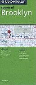 Rand McNally Streets of Brooklyn (Rand McNally Streets Of...)