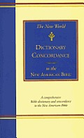 New World Dictionary Concordance To The Nab