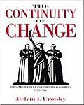 Continuity of Change: The Supreme Court & Individual Liberties, 1953-1986