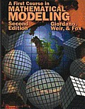 First Course in Mathematical Modeling (2ND 97 - Old Edition)