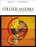College Algebra : a Contemporary Approach (2ND 00 Edition)