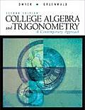 College Algebra & Trigonometry 2ND Edition