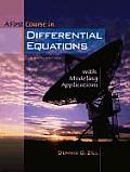 First Course in Differential Equations With Modeling Applications - With CD (8TH 05 - Old Edition)
