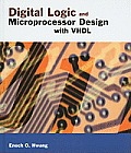 Digital Logic and Microprocessor Design with VHDL Cover
