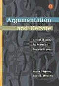 Argumentation and Debate (with Infotrac) (Wadsworth Series in Communication Studies)