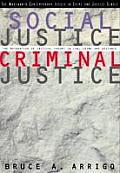 Social Justice/Criminal Justice