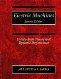 Electric Machines (2ND 94 Edition) Cover