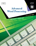 Advanced Word Processsing, Lessons 61-120: Certified Approach with CDROM