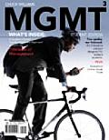 Mgmt 2010 Edition with Review Cards & Bind In Printed Access Card 3rd ED