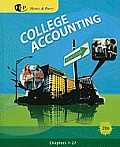 College Accounting, Chapter 1-27 (20TH 11 - Old Edition) Cover