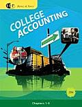 College Accounting, Chapters 1-9 Cover
