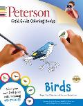 Peterson Field Guide Coloring Books: Birds [With Sticker(s)] (Peterson Field Guide Coloring Books)