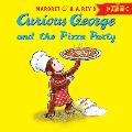 Curious George and the Pizza Party with Downloadable Audio (Curious George)