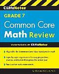 Cliffsnotes Grade 7 Common Core Math Review