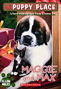 Puppy Place #12: Maggie and Max Cover