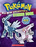 Pokemon All New Collectors Sticker Book With Over 450 Stickers