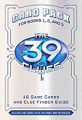 39 Clues: Card Pack 1 Cover