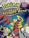 Deluxe Activity Book Sinnoh Edition